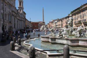 Les fontaines de la Piazza Navona