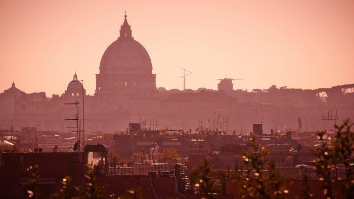 Rome depuis la Villa Borghese