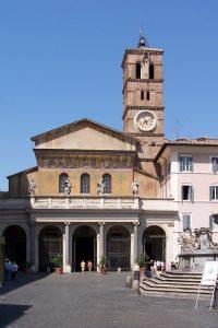 La basilique Santa Maria in Trastevere