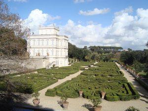 La  Villa Pamphilj et ses jardins