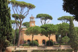 La piazzia di Siena, dans le parc de la Villa Borghese