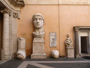 statue de l'empereur Constantin II