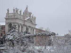 météo Rome sous la neige