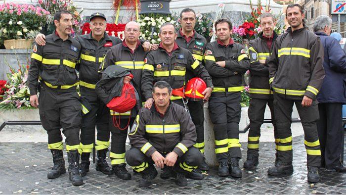 pompiers rome