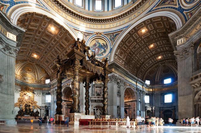 visite guidée basilique Saint Pierre