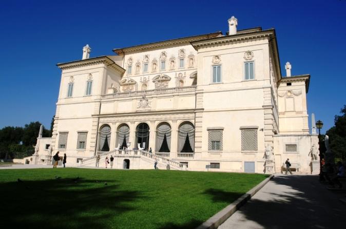visite galerie Borghèse