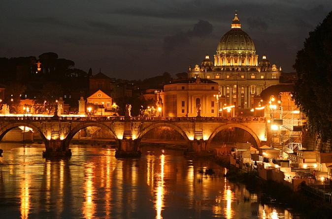 Visite de Rome de nuit