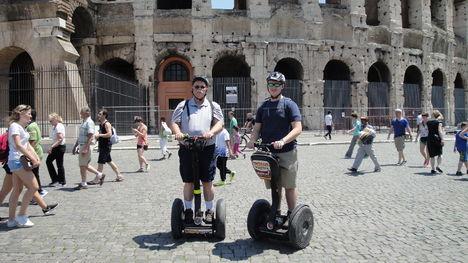 Visite de Rome en Segway