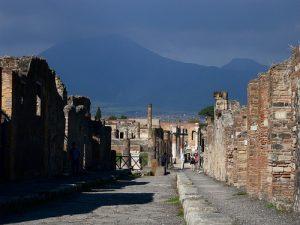 les ruines de Pompei