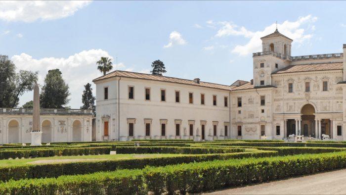La villa Médicis (Rome).