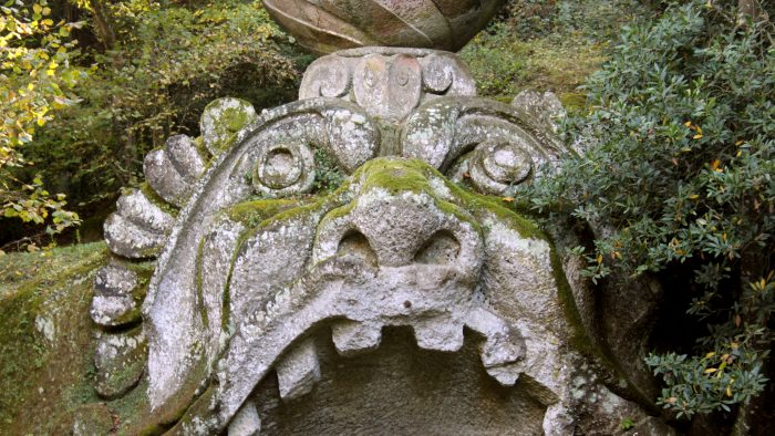 Monstre jardins de Bomarzo