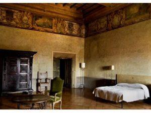 Une chambre à l'Académie de France.
