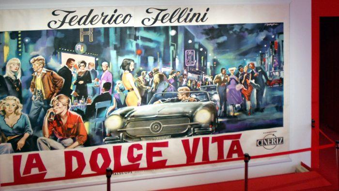 L'affiche du film La Dolce Vita.