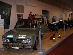 Une Alfa Romeo vintage.