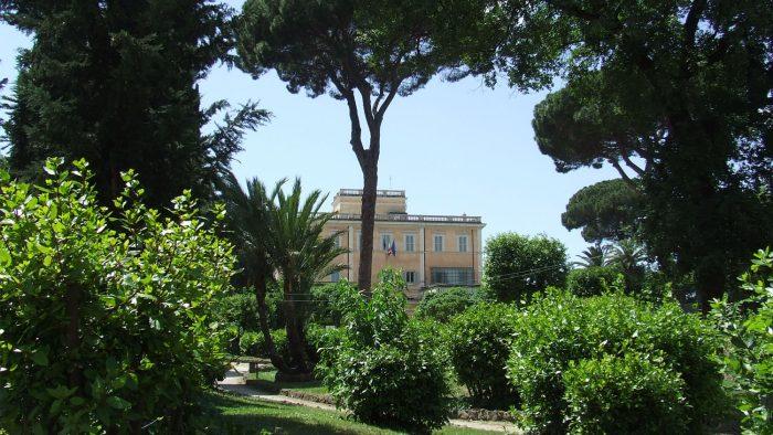 La Villa Celimontana et son parc en musique.