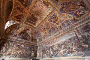 chambre raphael vatican rome