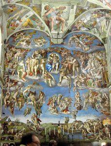 chapelle sixtine jugement dernier