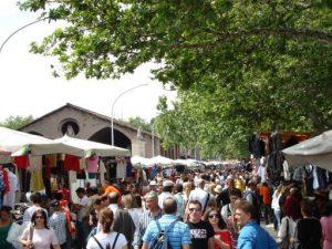 Le marché aux puces Porta Portese.