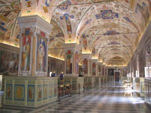 musee bibliotheque vatican-rome