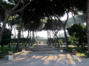 Découverte du jardin des orangers Rome.