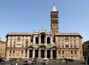 L'église Santa Maria Maggiore à Rome.