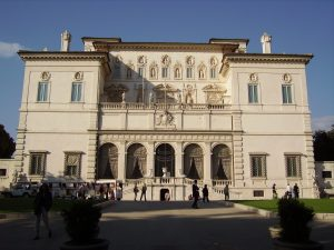 Week-end à Rome : galerie Borghese.