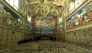 chapelle sixtine.