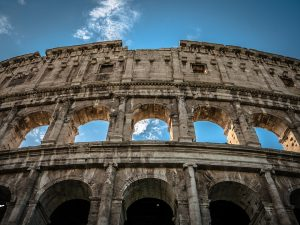 colisee facade rome