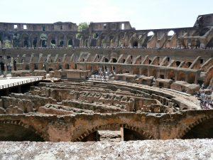 colisee gradins a rome
