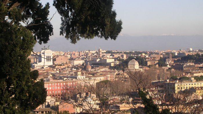 Curiosites sur le Janicule à Rome.