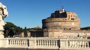 ouvertures chateau saint-ange a rome