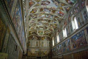 5 détails insolites sur les fresques de la chapelle Sixtine