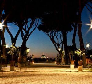 coucher de soleil rome jardin des orangers