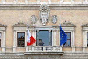 Le palais Farnese, à Rome