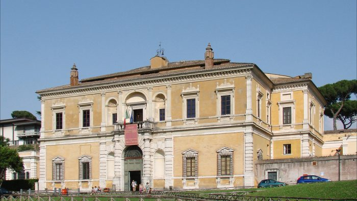 nocturne Villa Giulia