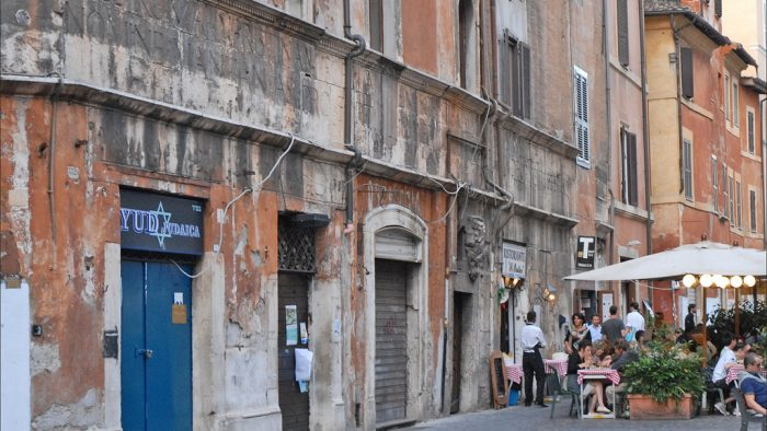 quartier du Ghetto a rome