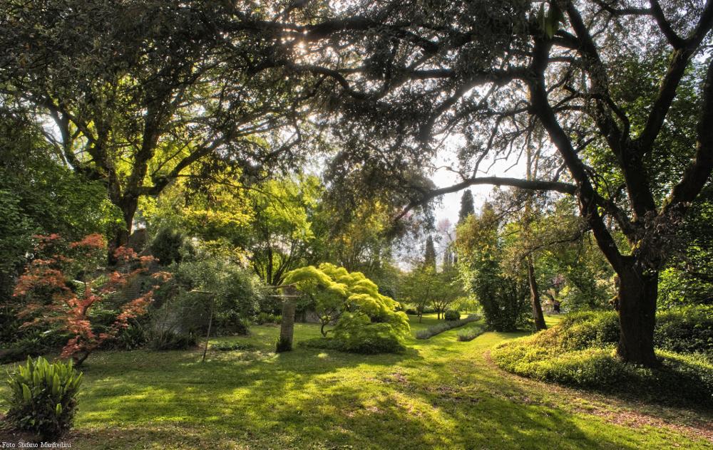 Rome jardins Giardino di Ninfa