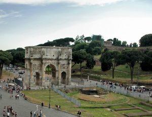 meta sudans fontaine gladiateurs rome