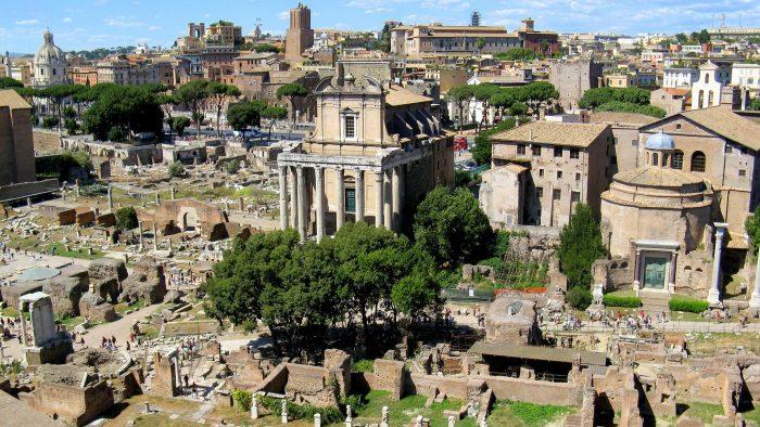 Forum romain en demi-journee