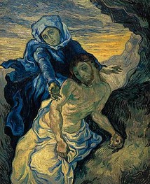 art contemporain Van Gogh Pieta
