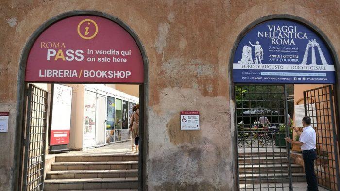 Point informations touristiques Rome.