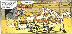 Astérix cirque Maximus Rome.