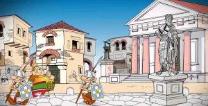 Astérix temple César.