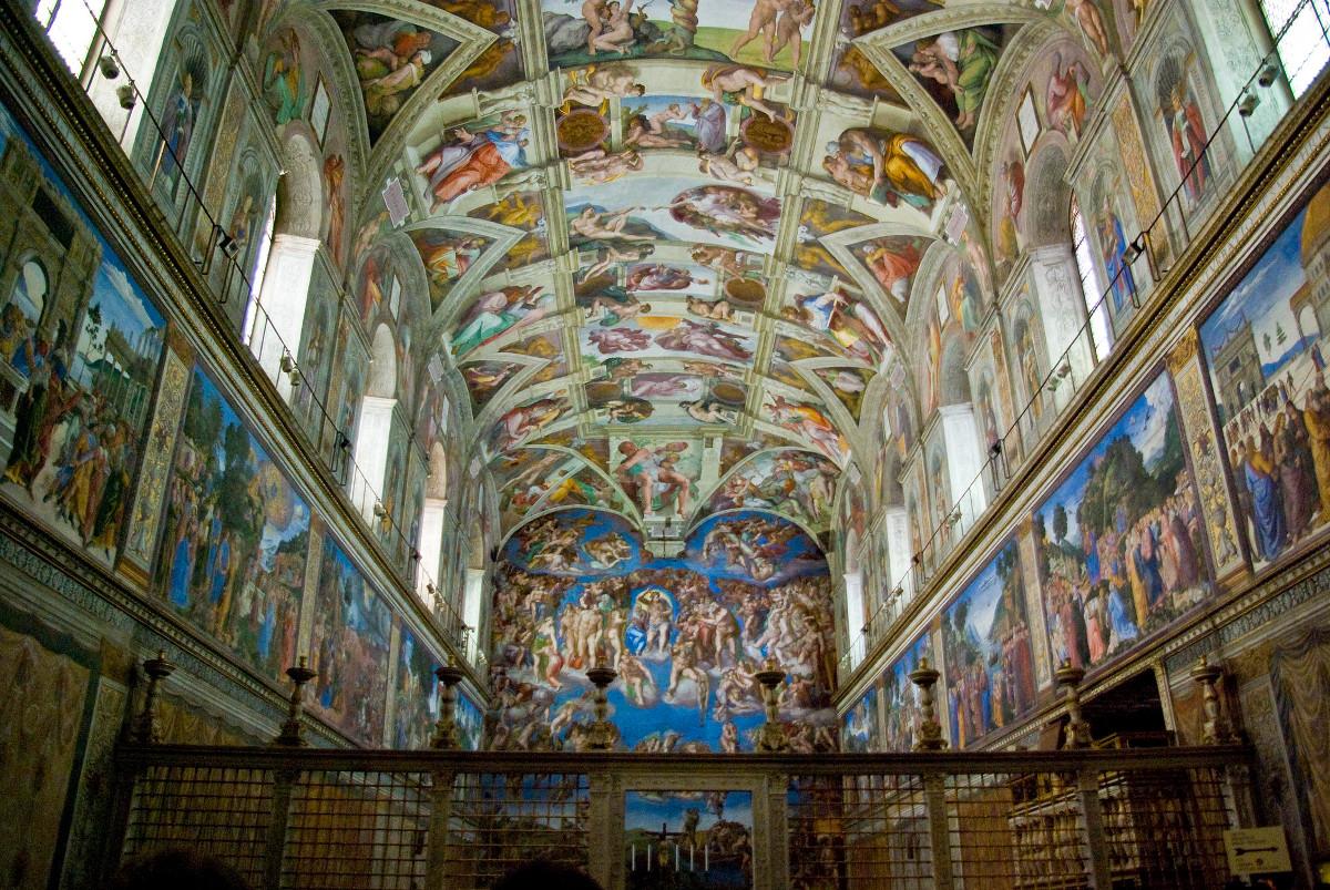 Chapelle_sixtine Rome