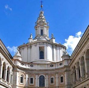 églises rome sant'ivo alla sapienza