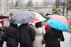valise Rome hiver pluie.