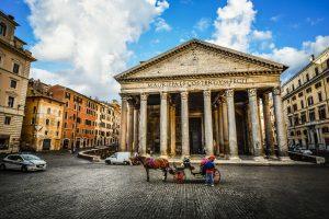 quartier Panthéon hôtel Rome.