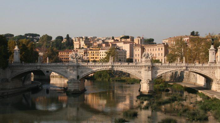 fréquentation touristique Rome.