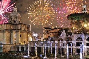 Demandez le programme du réveillon 2018 à Rome