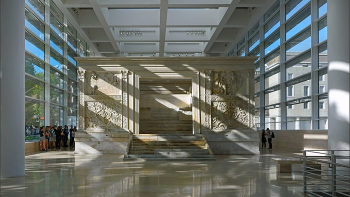 Rome contemporaine musee ara pacis